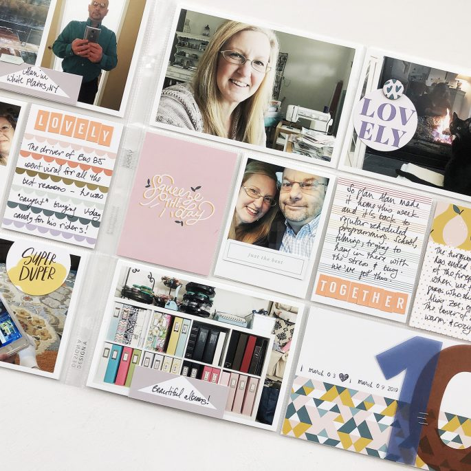 Larkindesign 2019 Project Life Weeks 09 and 10 | Studio Calico Documenter Lucky Charm