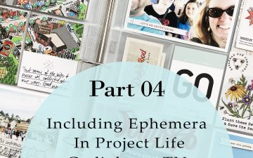 Larkindesign Including Ephemera In Project Life | Gatlinburg 2019 Part 04!!!