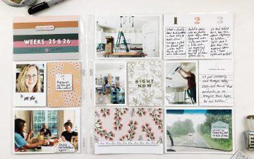 Larkindesign Project Life 2019 | Weeks 25 and 26 ft. Studio Calico