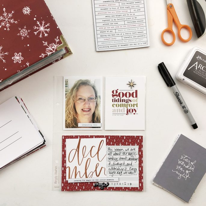 Larkindesign December Daily 2019 | My Reason Why Page