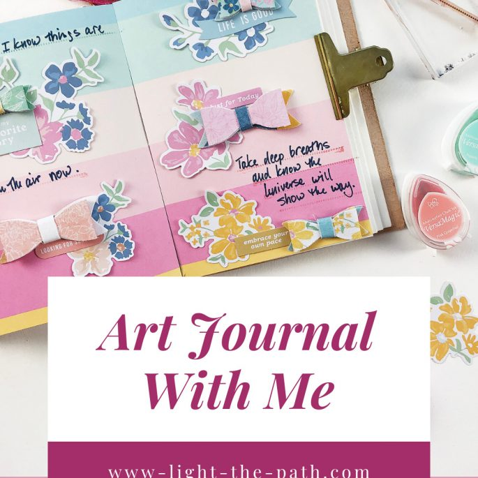 Larkindesign Art Journal Volume 04 Layout 06 | This Is My Favorite Story