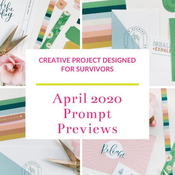 Light The Path April 2020 Prompt Previews
