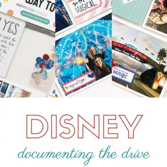 Larkindesign Disney 2020 Album | Documenting Our Drive | Ft Elle's Studio Magical Memories