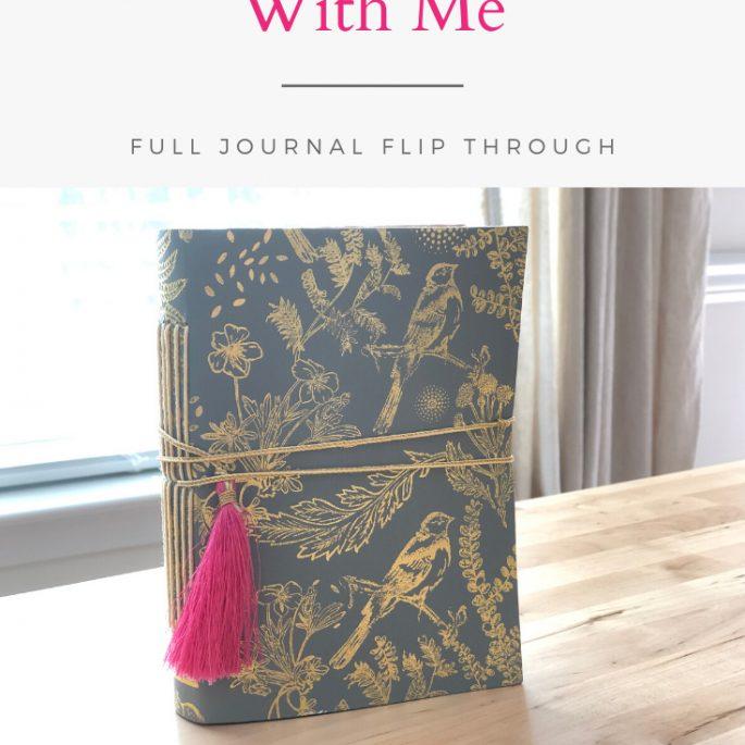 Larkindesign Art Journal Volume 04 | Final Journal Flip Thru