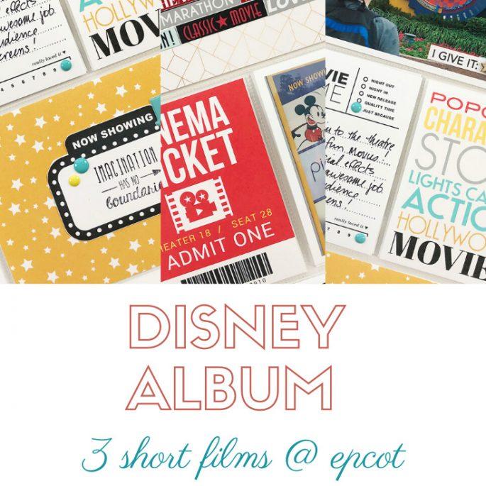 Larkindesign Disney 2020 Album Project | Documenting Epcot | 3 Short Films