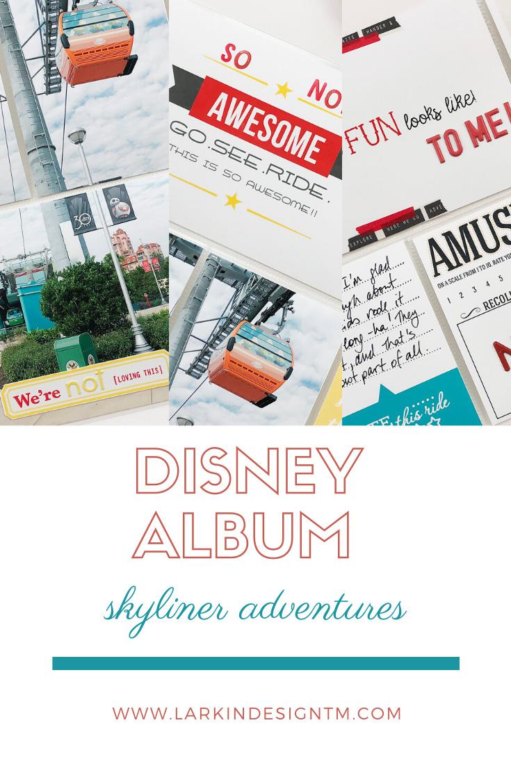 Larkindesign Disney 2020 Documenting Epcot | Adventures of the Skyliners