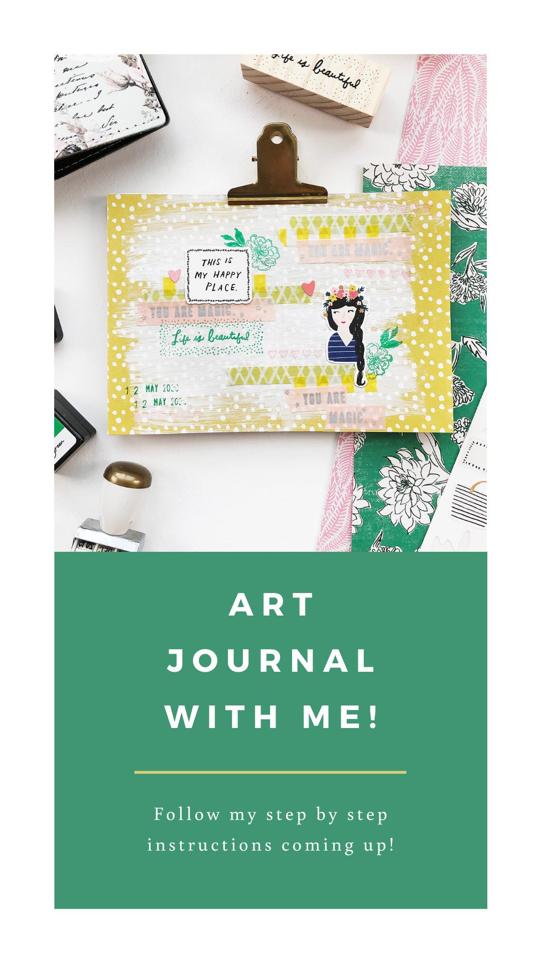 Larkindesign Art Journal With Me Volume 05   Life Is Beautiful