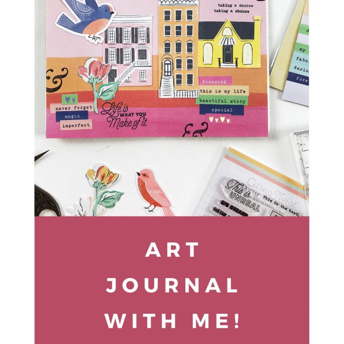 Light The Path Art Journal With Me Volume 05 | Life Is What You Make Of It
