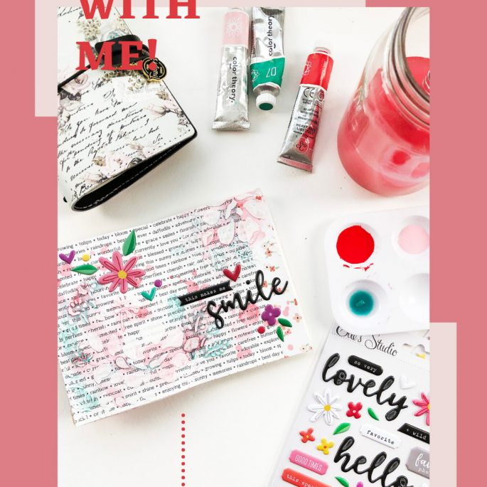 Larkindesign Art Journal With Me | Volume 05 This Makes Me Smile