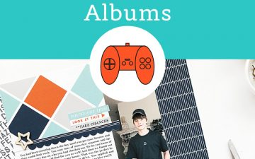 Larkindesign Kids Albums Project | Addison Edition | First Job