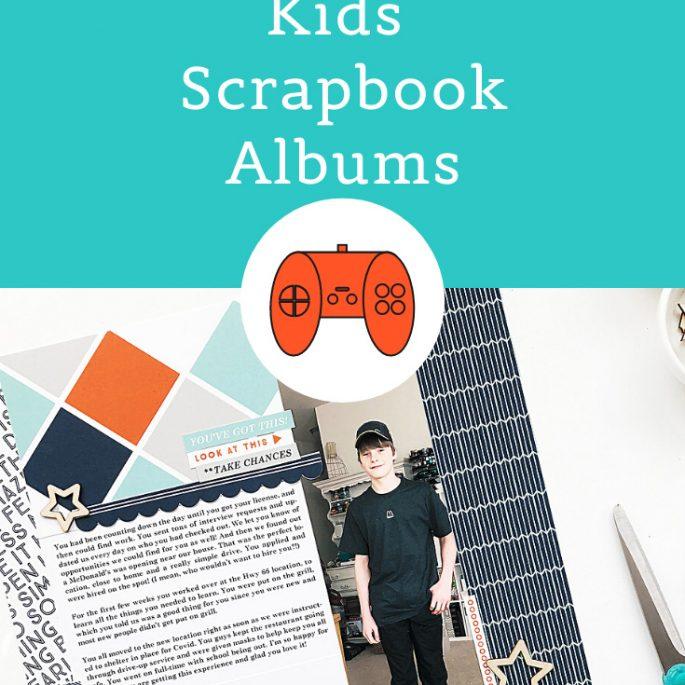 Larkindesign Kids Albums Project   Addison Edition   First Job
