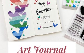 Light The Path Art Journal With Me | My Favorite Story