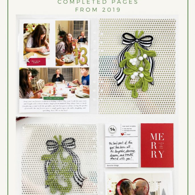 Scrappy Christmas In July | December Daily Days 13 Through 15