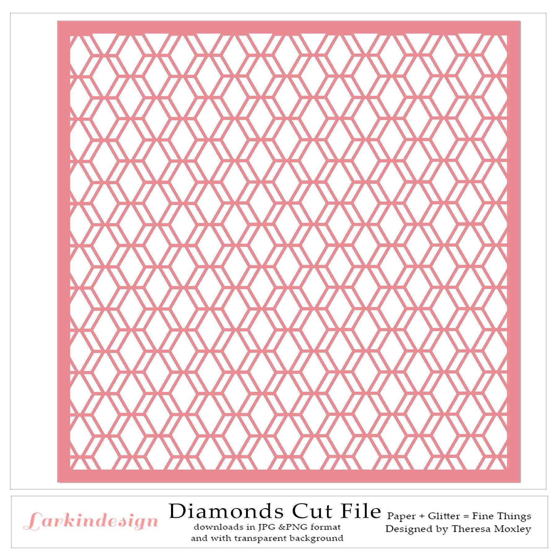 Diamonds Digital Cut File