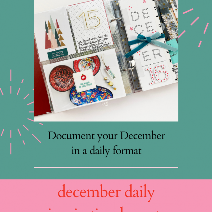 December Daily 2019 Day 16 Ft Paislee Press