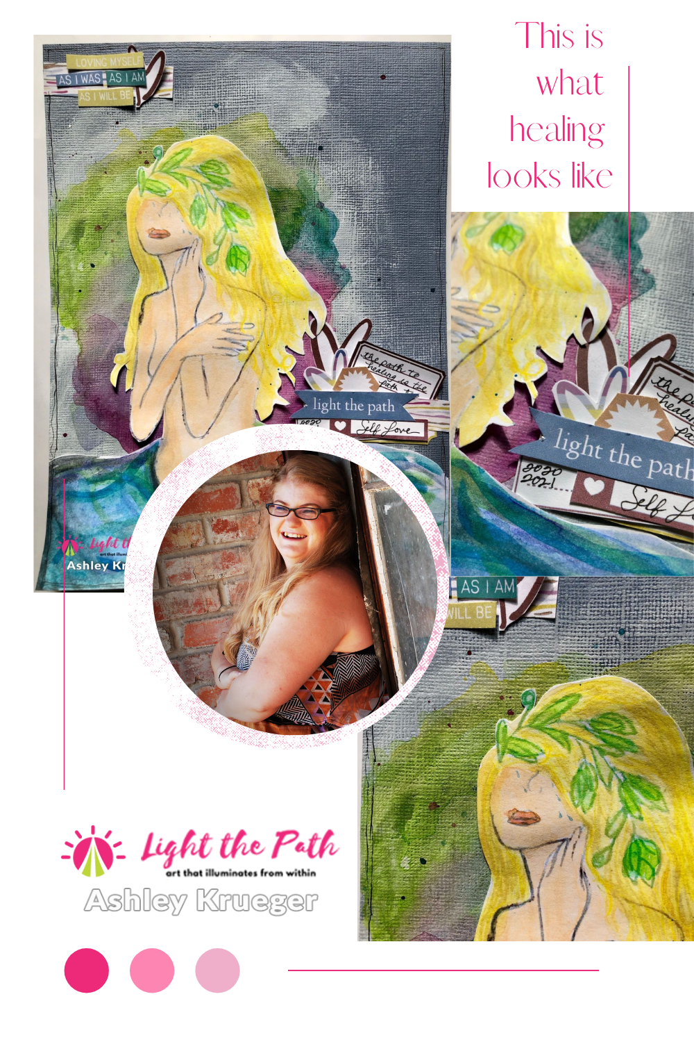 Light The Path Design Team Ashley Krueger | Intro Page