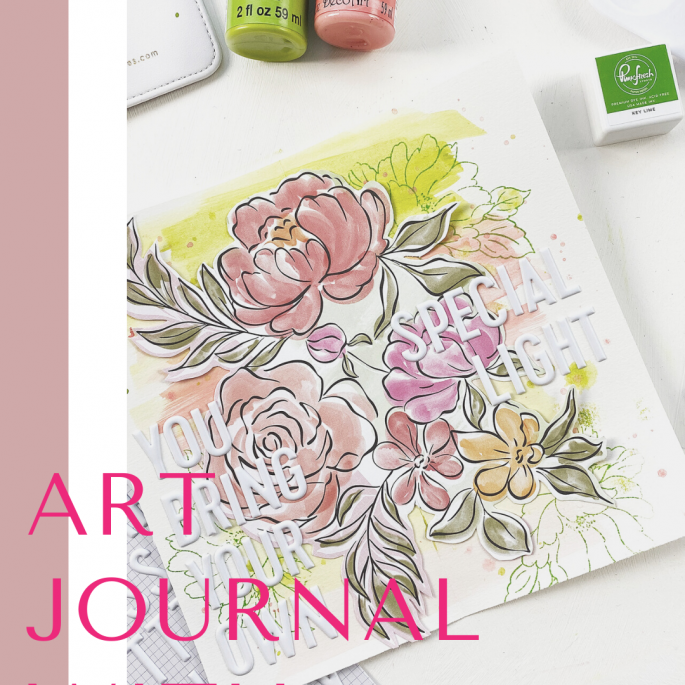 Theresa Moxley Art Journal With Me | Your Own Special Light