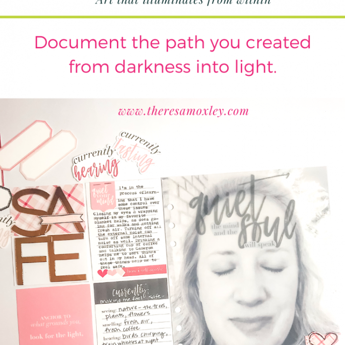 Light the Path Design Team Junell Kruzel | February Prompt Five Senses