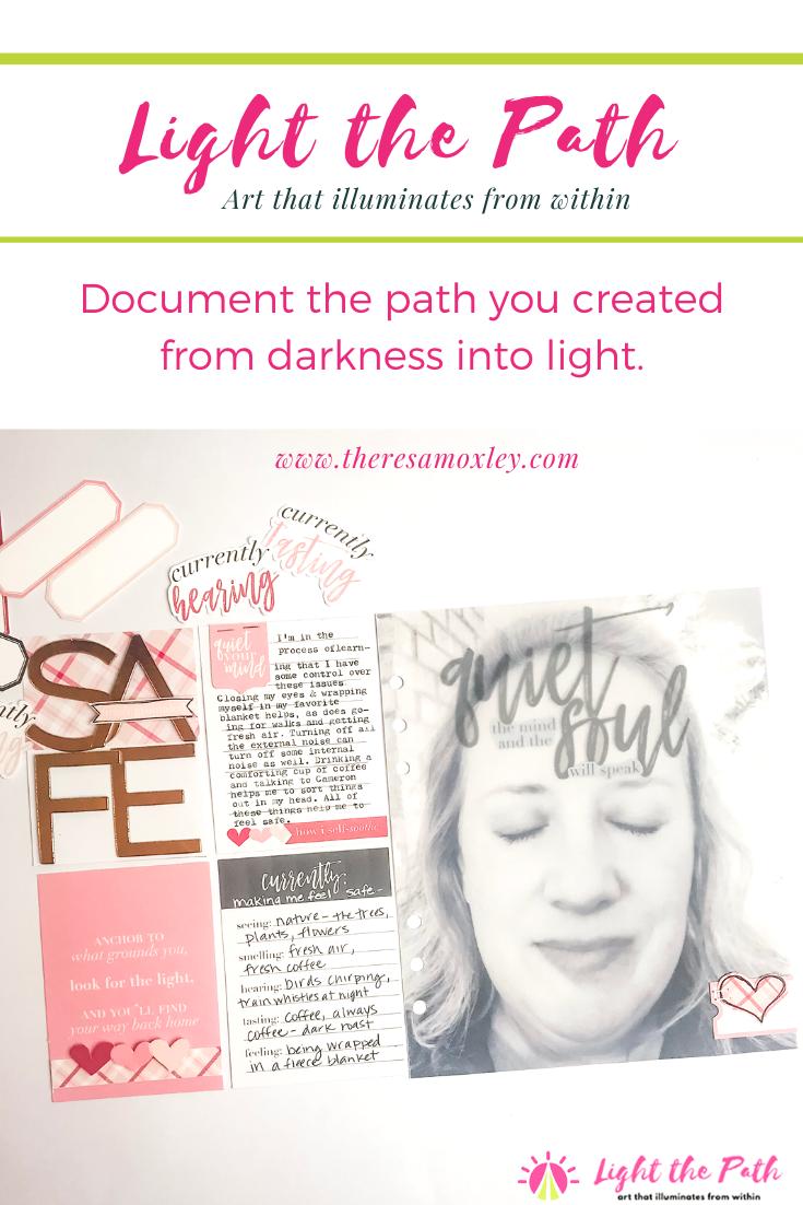 Light the Path Design Team Junell Kruzel   February Prompt Five Senses