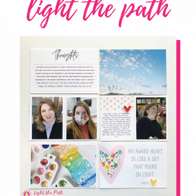 Light The Path Design Team Maribeth | Workshop January Photography Prompt