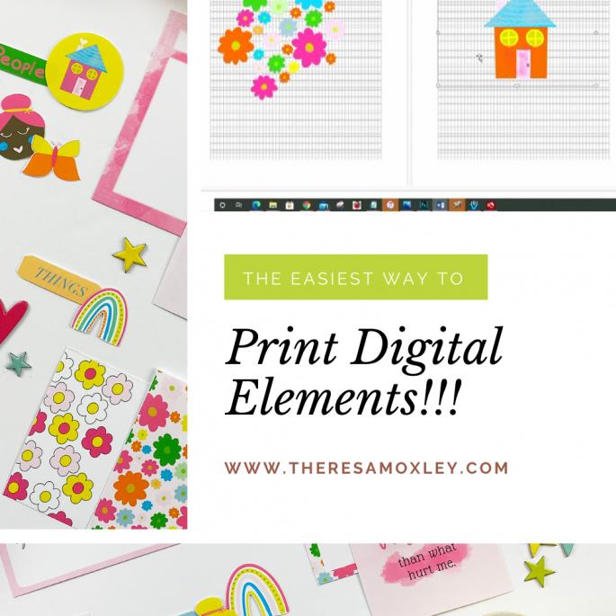 Print Tutorial | The Easiest Way to Print Digital Elements!
