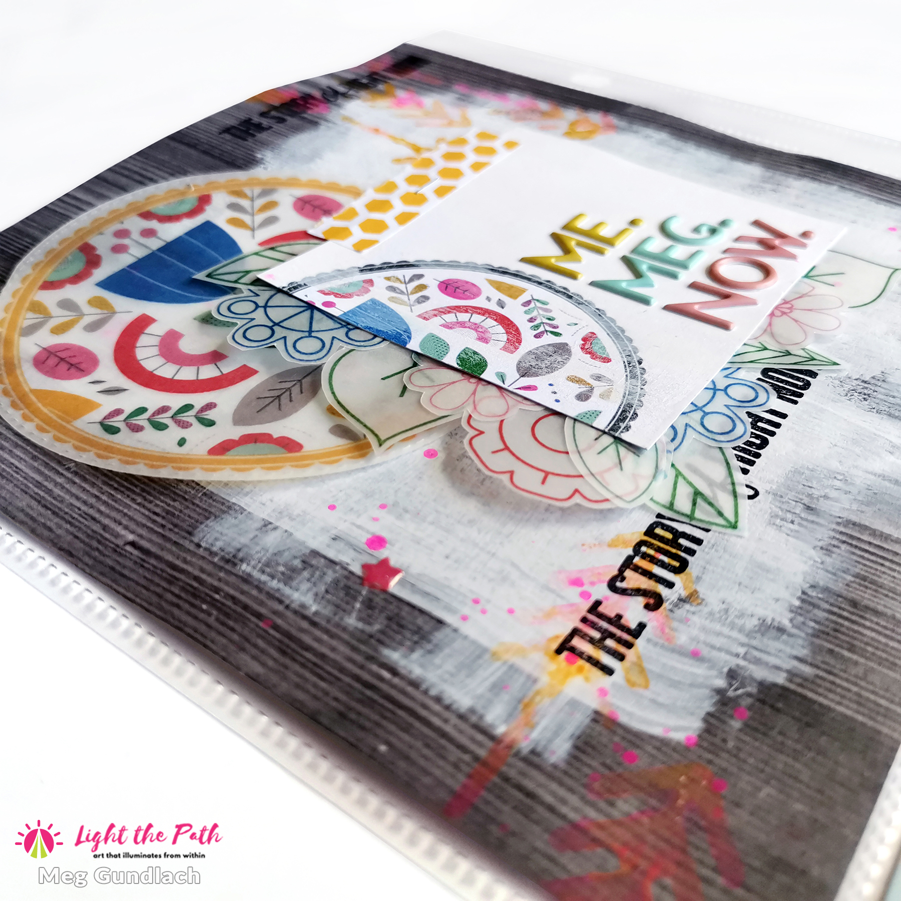 Light The Path Design Team 2021 Meg Gundlach | March Prompt People Places Things