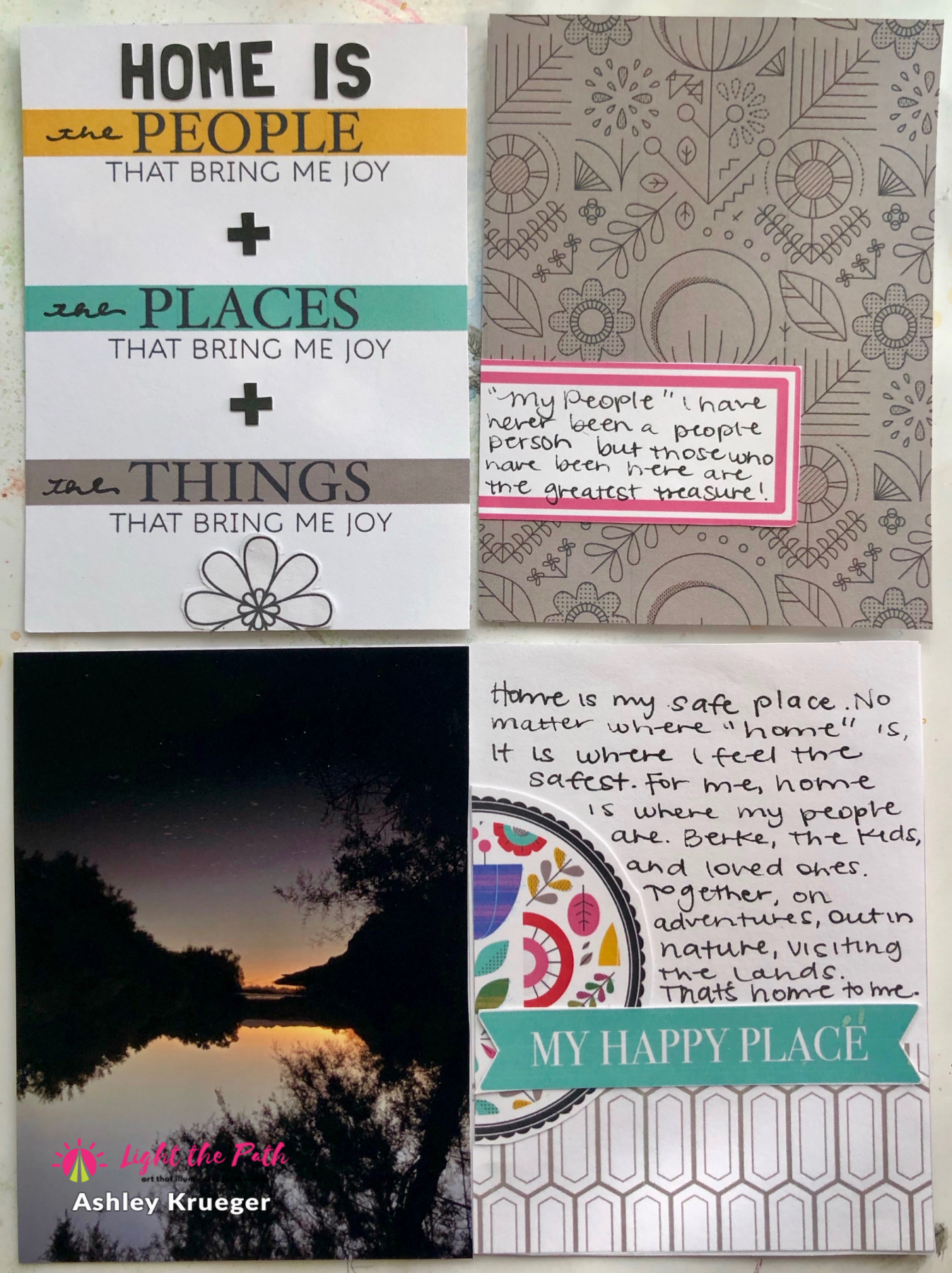 Light The Path 2021 Design Team Ashley Krueger March Home Pocket Cards