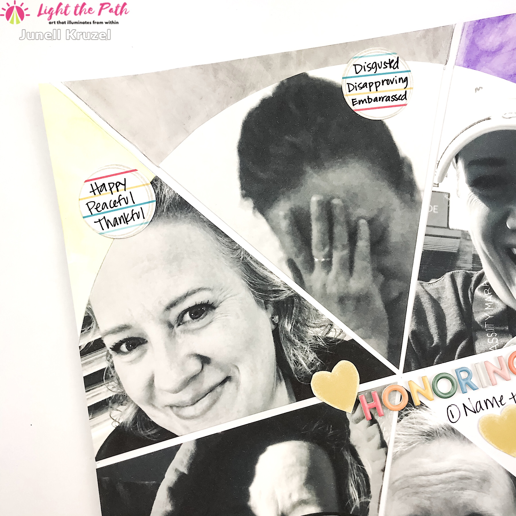 Light the Path 2021 Design Team Junell Kruzel Honor Your Emotions