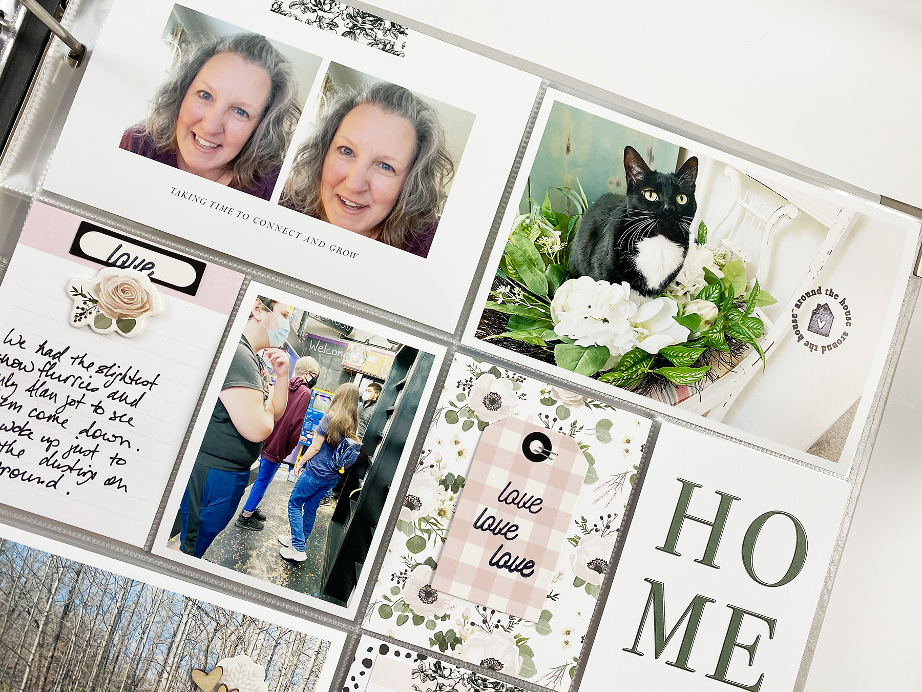 Theresa Moxley Project Life 2021 | January Bi Monthly 02 ft. Felicity Jane Krystal