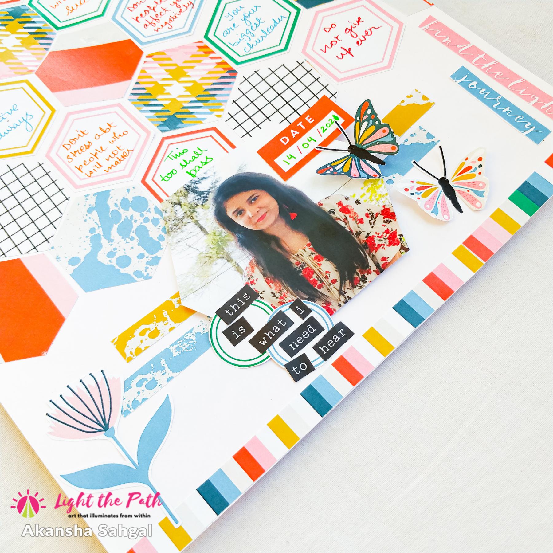 Light The Path Design Team- Akansha Sahgal   May 2021 Things I want to hear