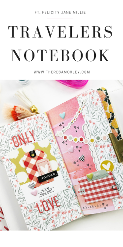 Theresa Moxley Art Journal With Me   Only Love ft Felicity Jane Millie