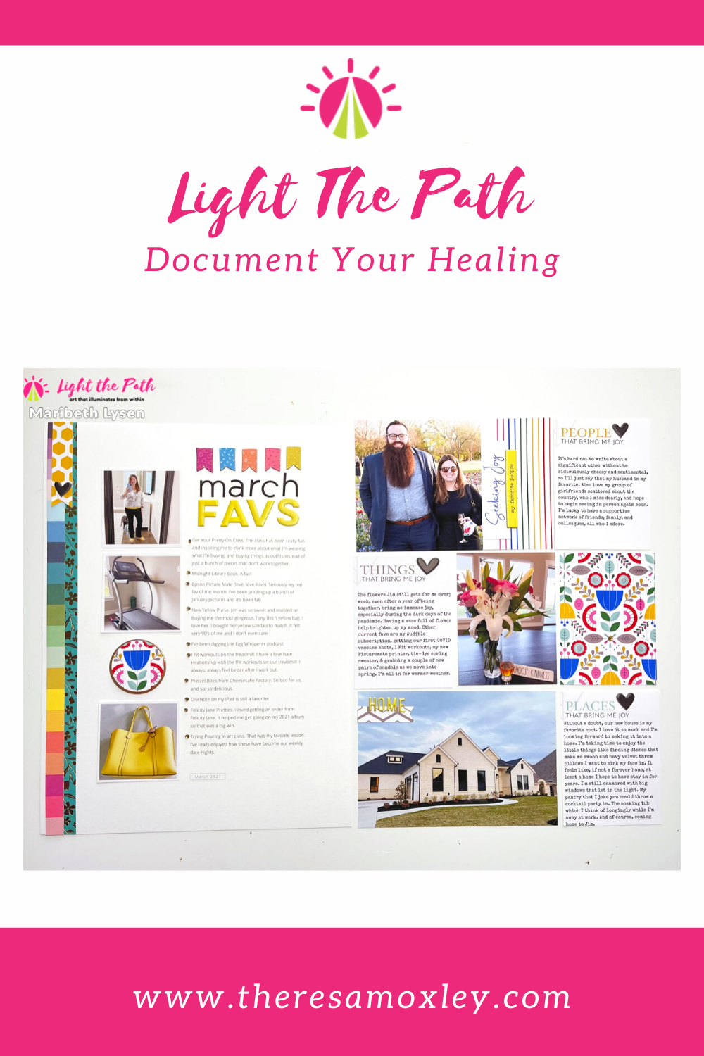 Light The Path Design Team Maribeth Lysen | March People, Places, Things