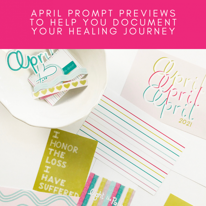 Light The Path April Prompt Previews