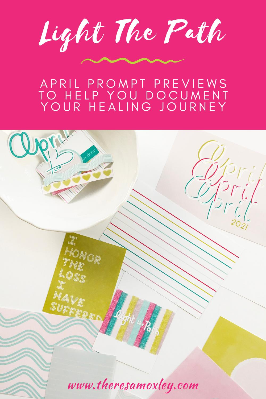 Light The Path April Prompt Previews