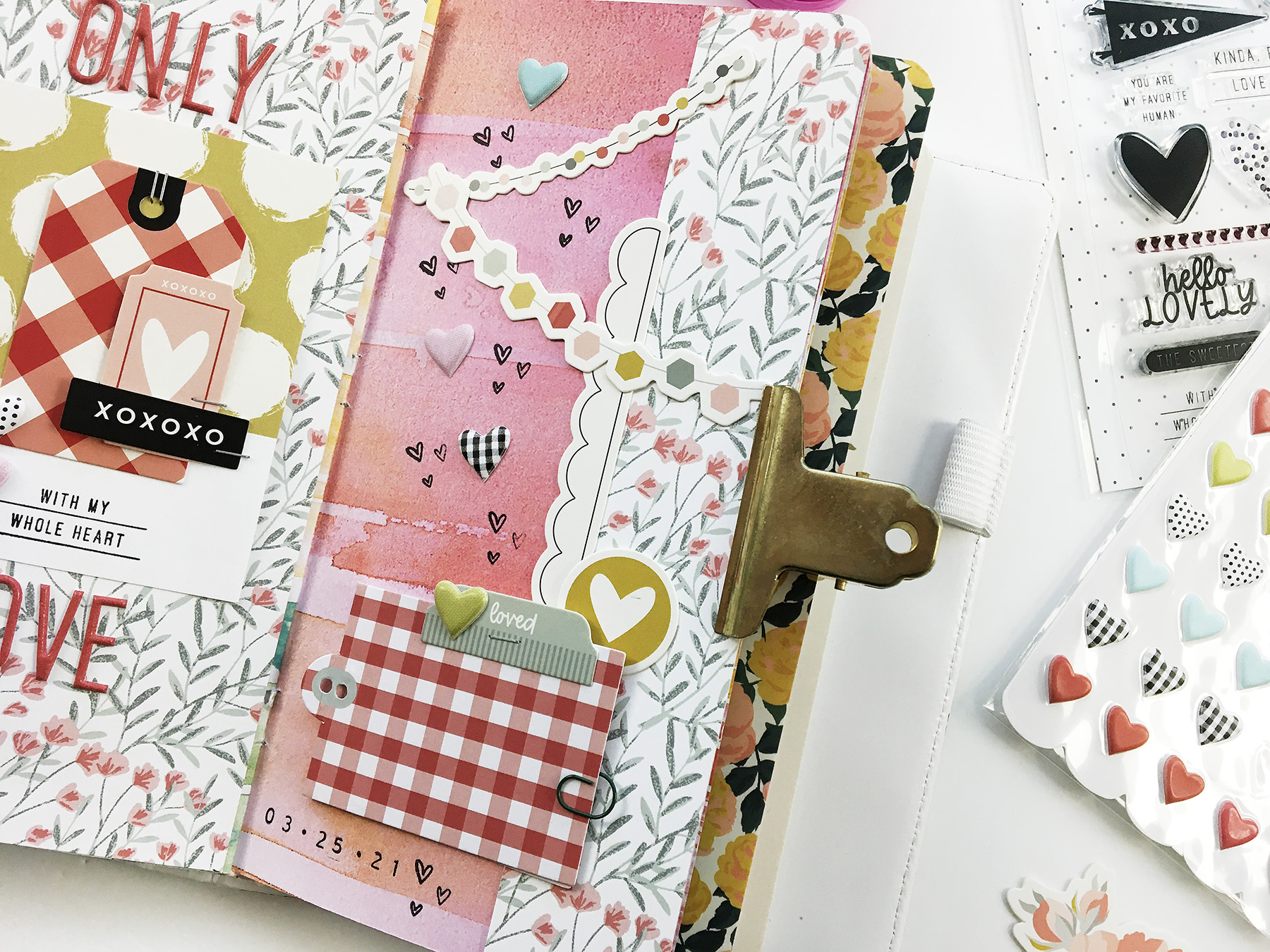 Theresa Moxley Art Journal With Me | Only Love ft Felicity Jane Millie