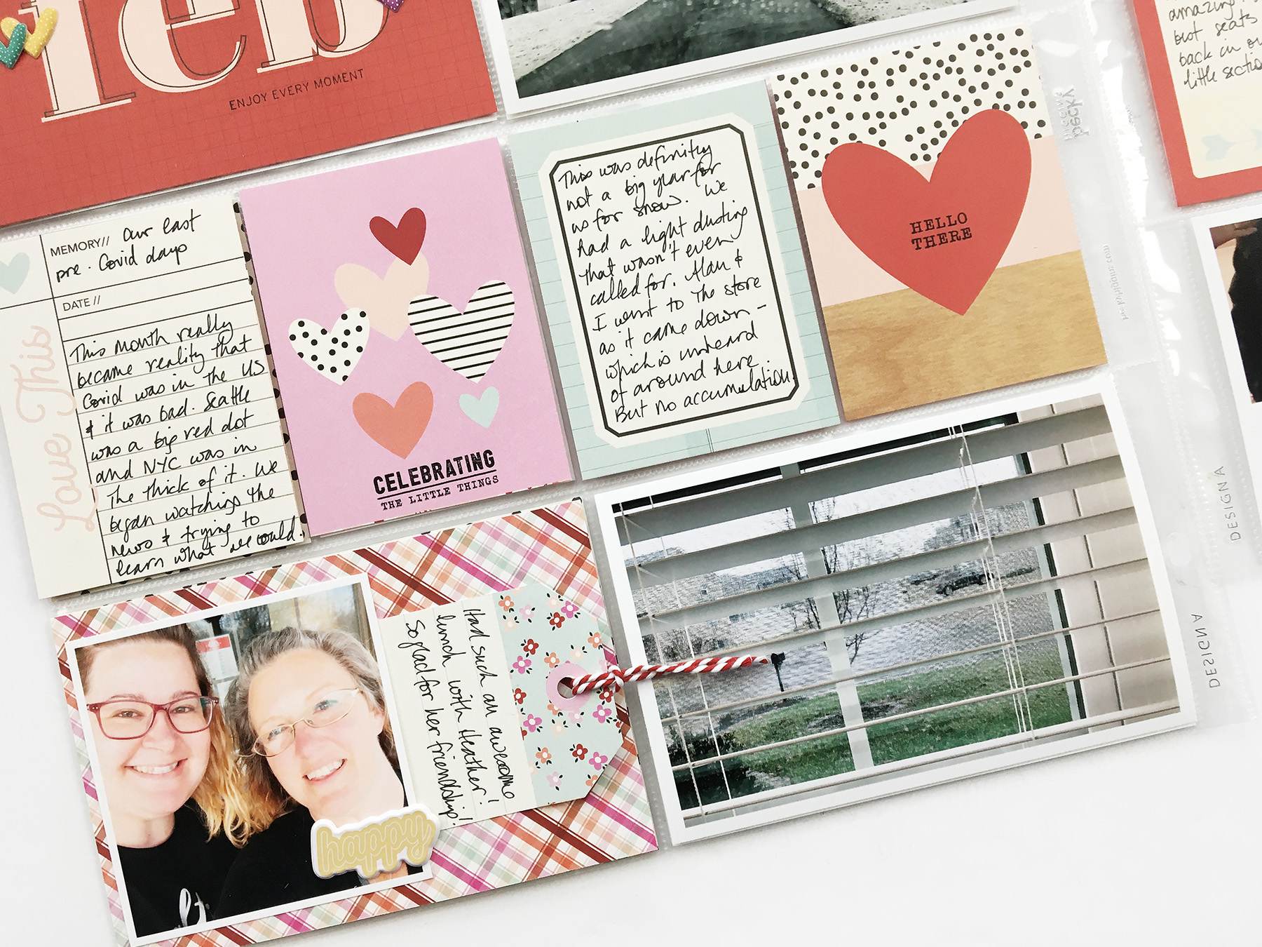 Project Life 2020 | February Monthly Layout ft Simple Stories