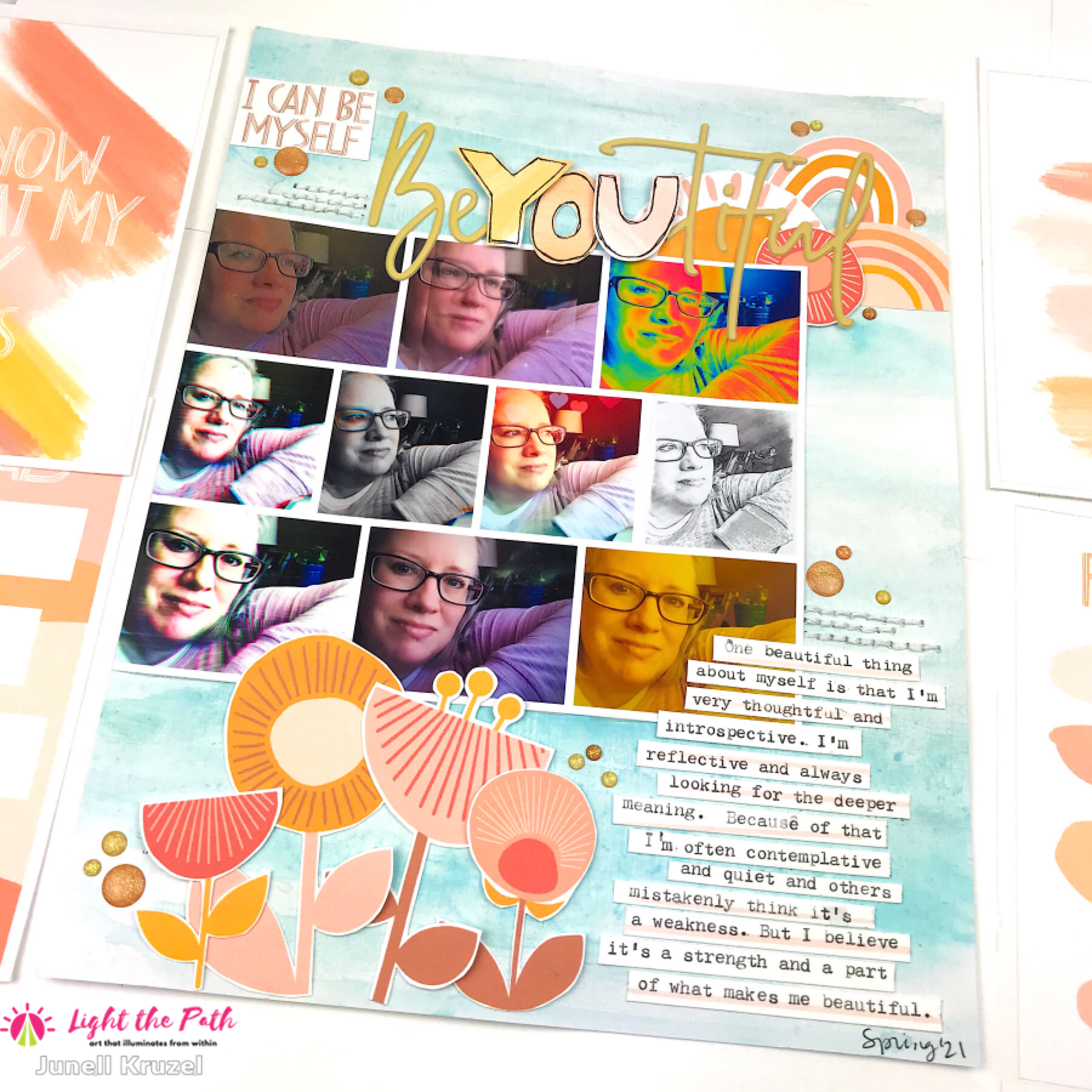 Light the Path 2021 Design Team Junell Kruzel One Beautiful Thing About Yourself