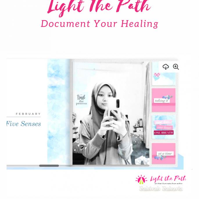 Light the Path 2021 Design Team Zakirah Zakaria | LTP Album Progress Sharing