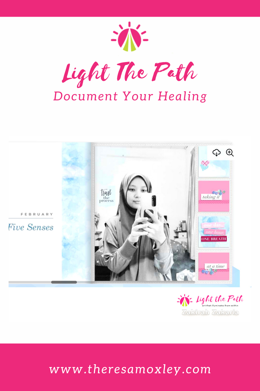 Light the Path 2021 Design Team Zakirah Zakaria   LTP Album Progress Sharing