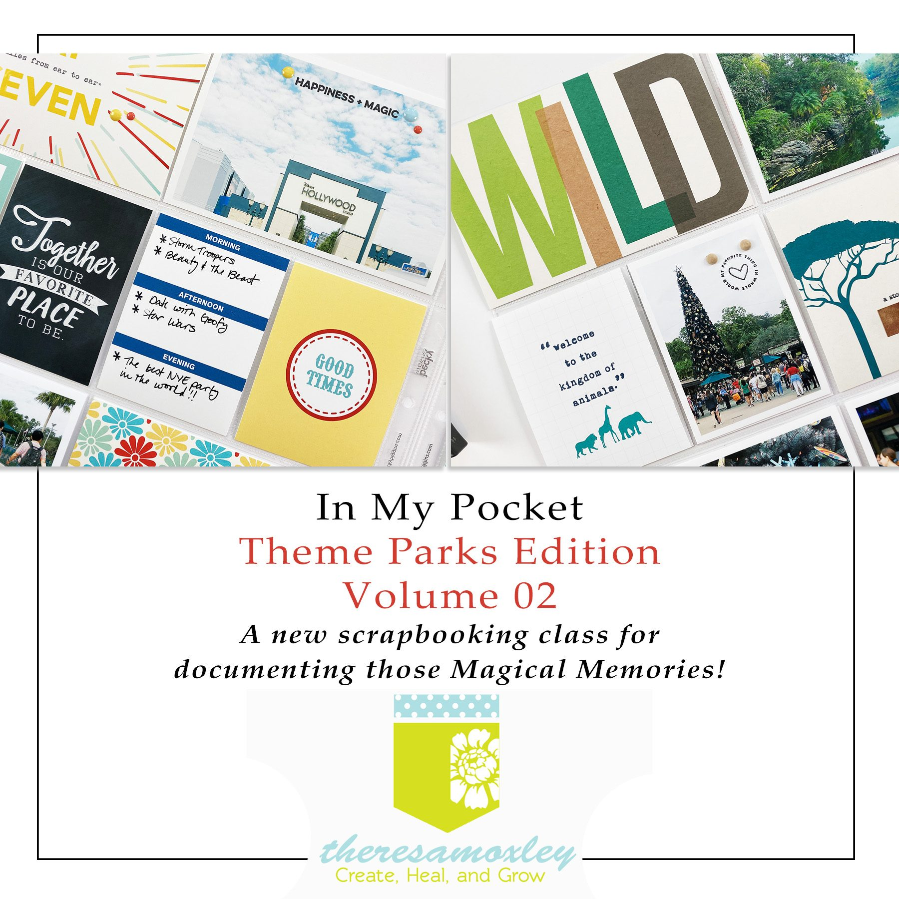 In My Pocket Theme Parks Volume 02 Memory Keeping Class