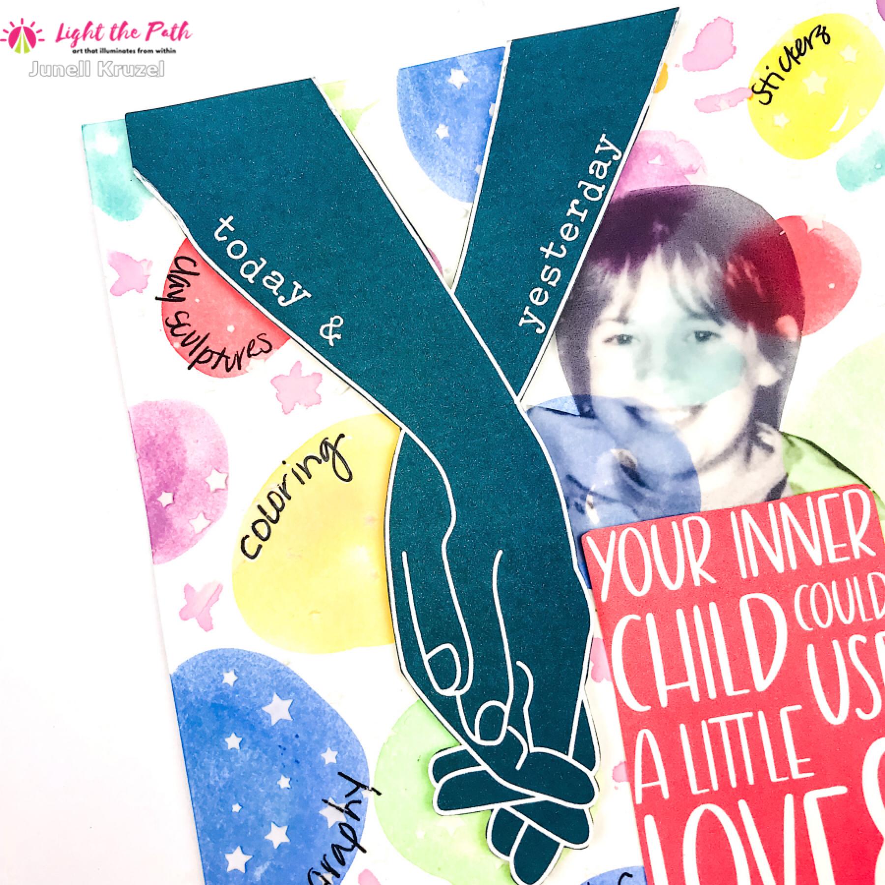 Light the Path 2021 Design Team Junell Kruzel Your Inner Child