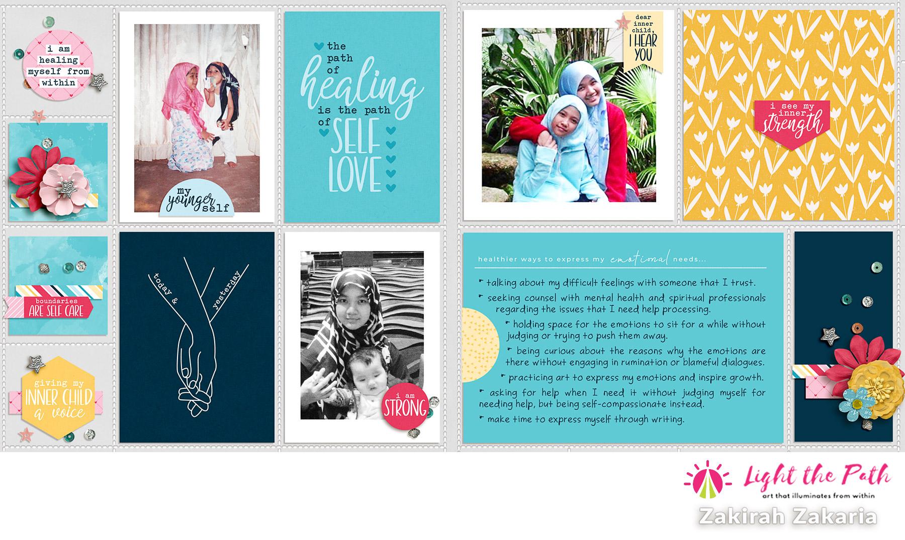 Light the Path 2021 Design Team Zakirah Zakaria Our Inner Child