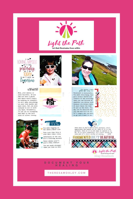 Light The Path Design Team Meg Gundlach | July Prompt Your Inner Child