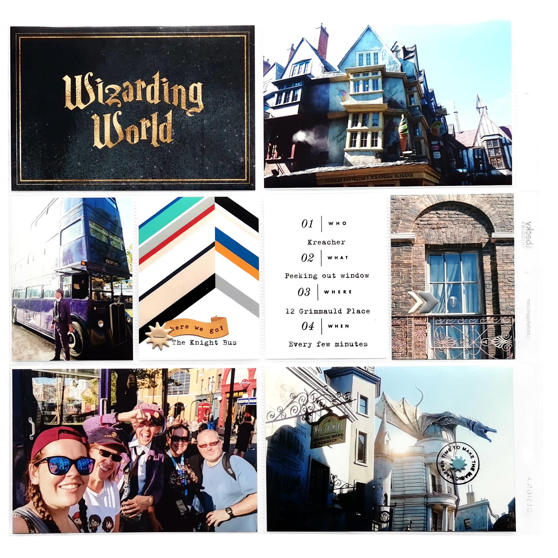 In My Pocket Theme Parks Volume 02 Meg Gundlach Wizarding World
