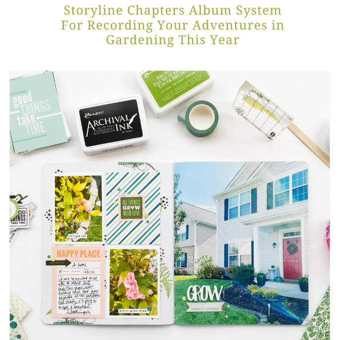 Theresa Moxley Storyline Album Layout | Grow