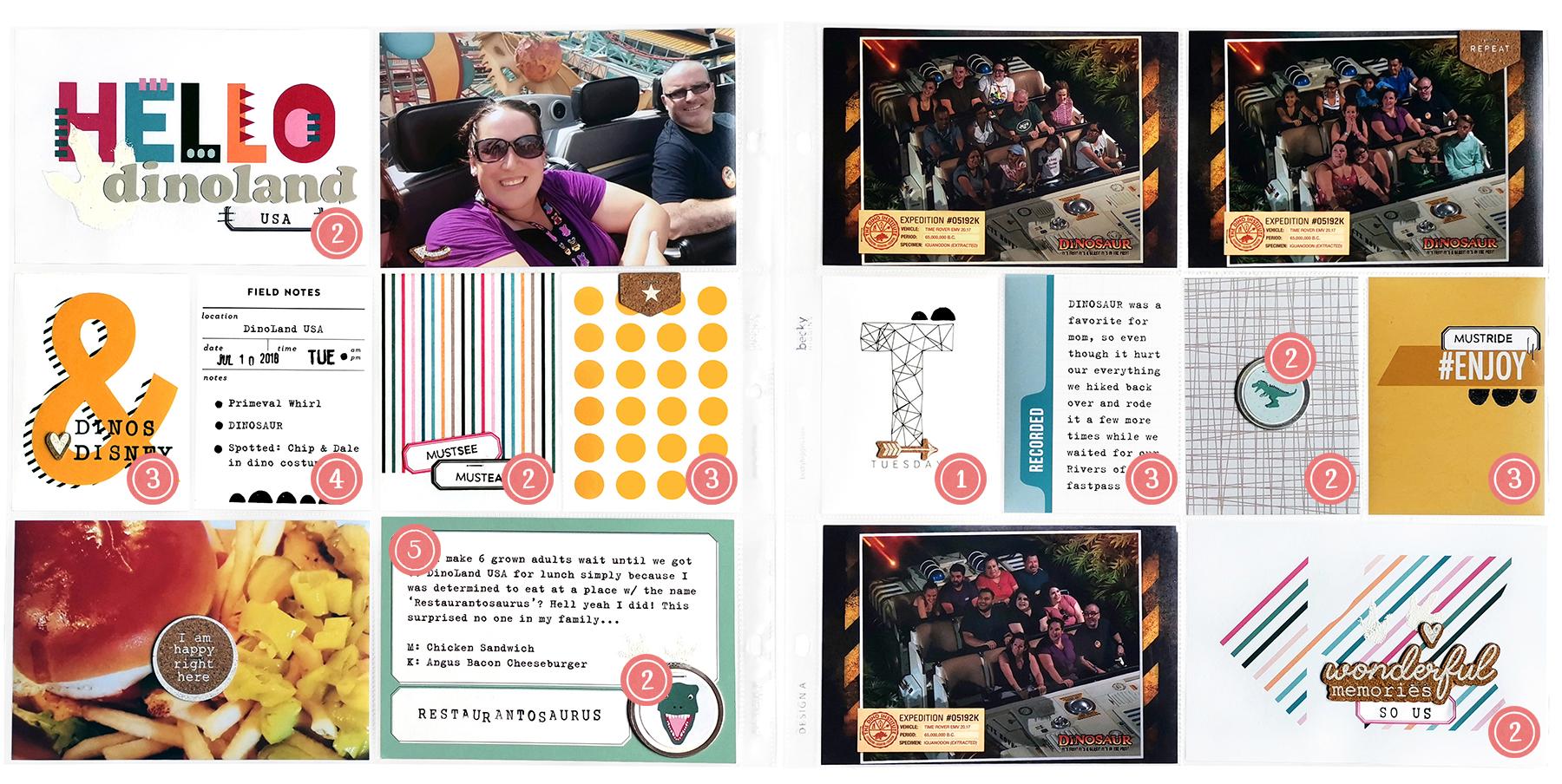 In My Pocket Theme Parks Volume 02 Meg Gundlach DinoLand