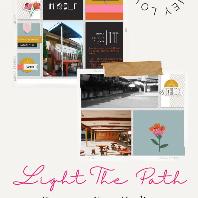 Light the Path 2021 Design Team Zakirah Zakaria | Timeline