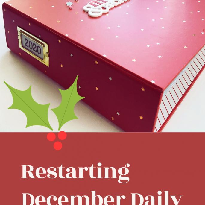 December Daily 2020 | Restarting An Album Project