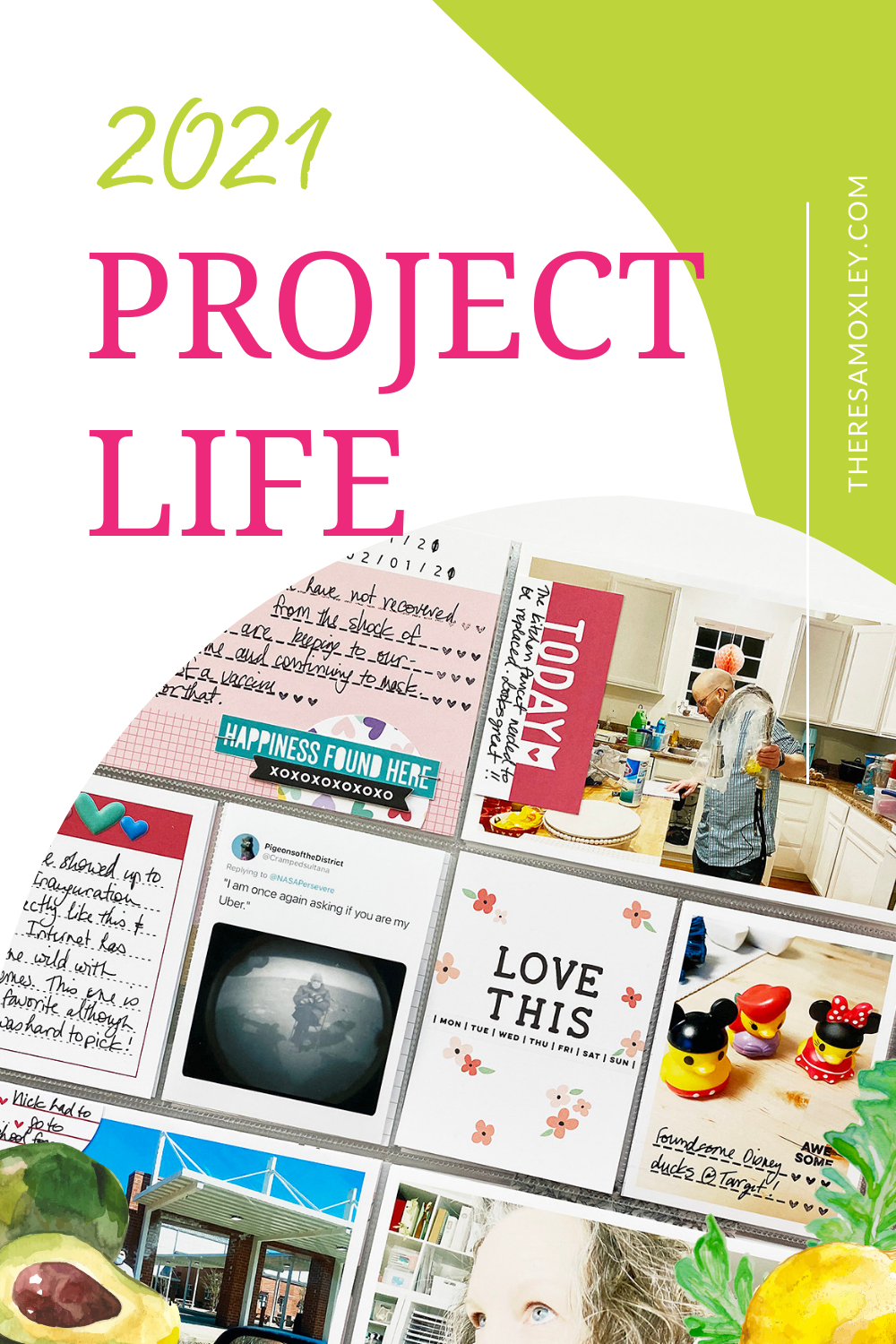 Project Life 2021 February Monthly Layout Ft. Elles Studio