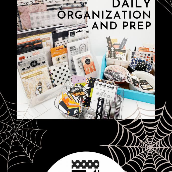 October Daily 2021 | Album Organization and Prep